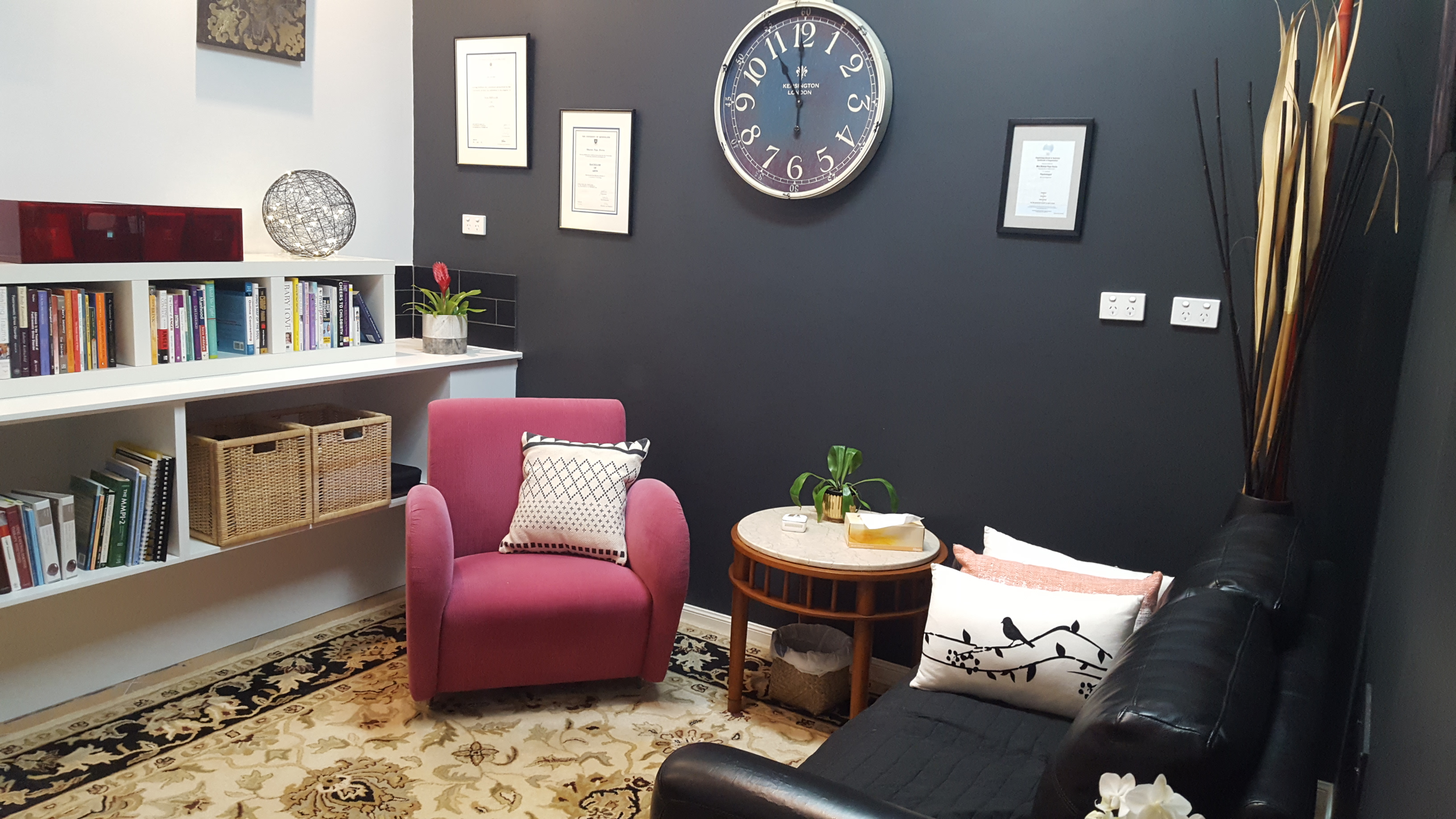 Collaborative Psychology Consulting Room